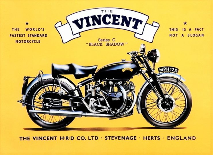 Vincent Black Shadow