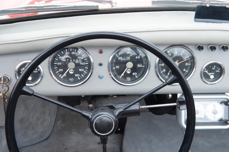 WD Denzel 1300 Dashboard