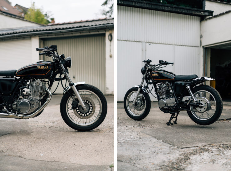Yamaha SR400 Custom Collage