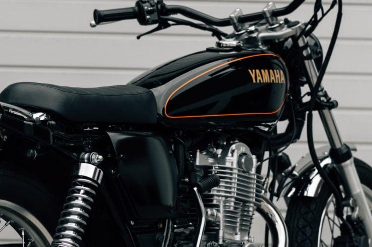 Yamaha SR400 Custom Fuel Tank