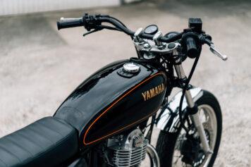 Yamaha SR400 Custom Tank