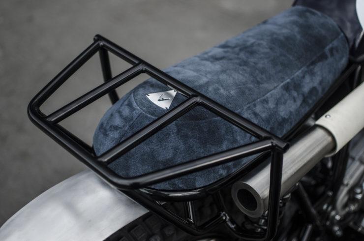 Yamaha SR500 Custom Luggage Rack