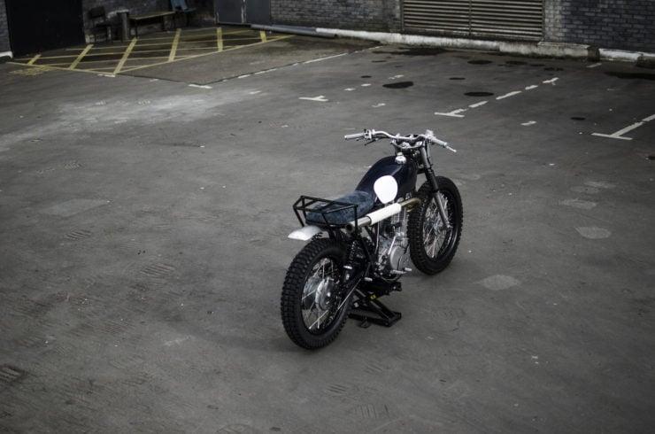 Yamaha SR500 Custom Rear 2