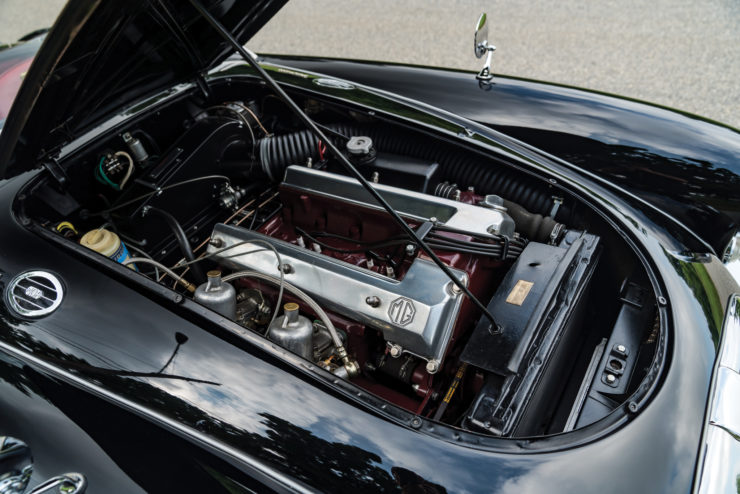 MGA Twin Cam sports car engine