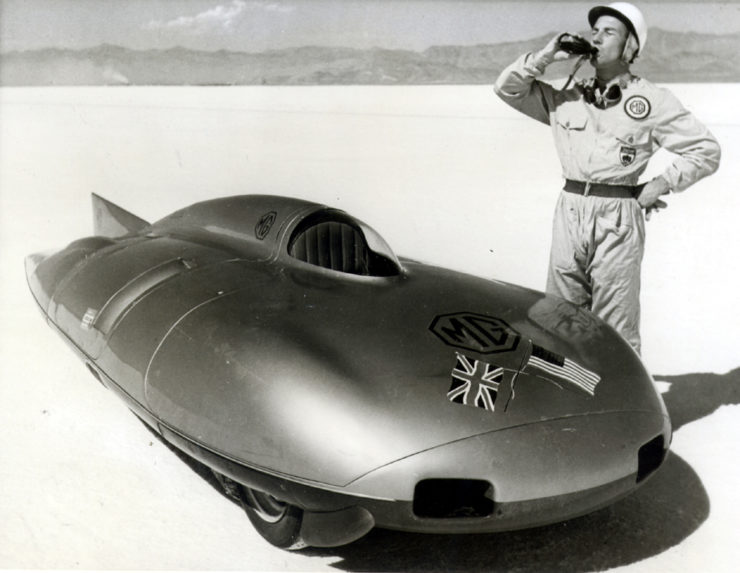 MG EX171 Sir Stirling Moss speed record Bonneville