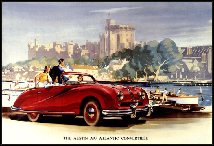 Austin A90 Atlantic car convertible