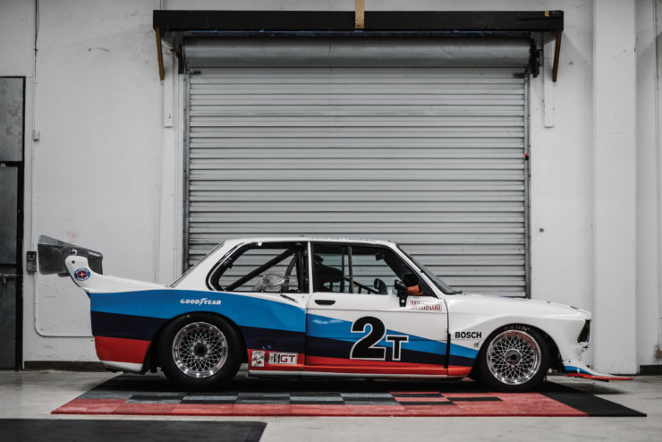 BMW 320i Turbo Side