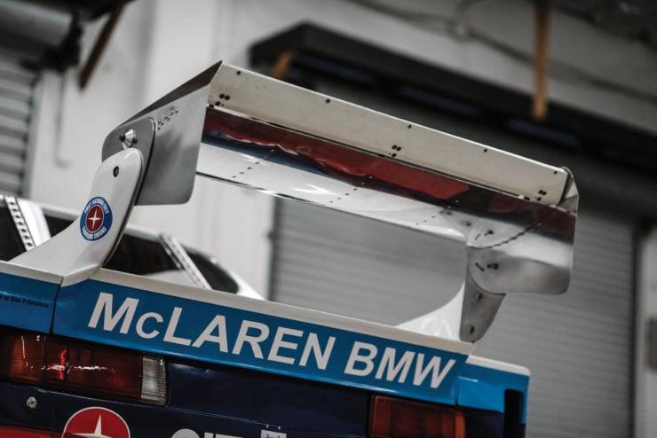 BMW 320i Turbo Wing
