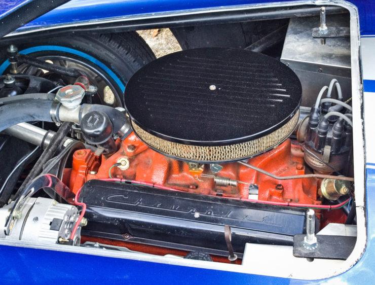 Byers SR100 Car V8 Engine
