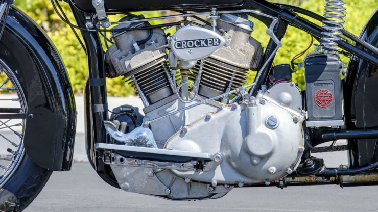 Crocker V-twin Engine 2