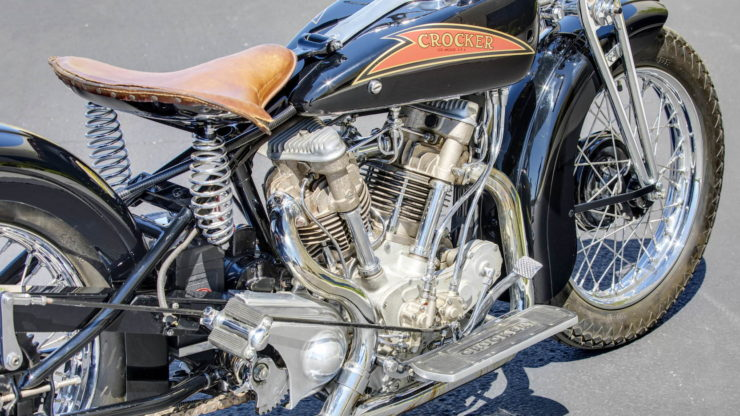 Crocker V-twin Engine 4