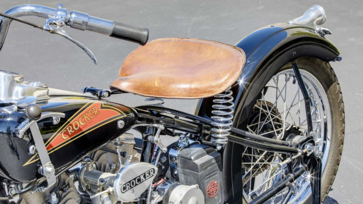 Crocker V-twin Seat