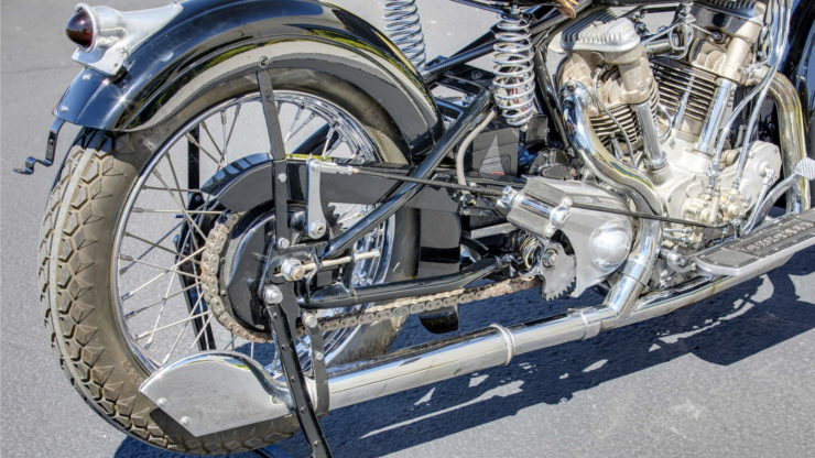Crocker V-twin exhaust
