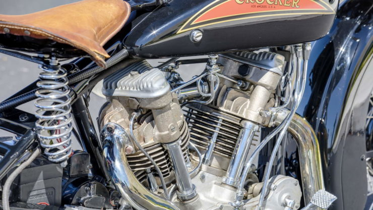 Crocker V-twin heads