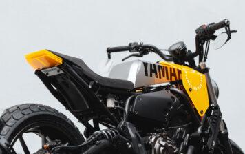 Custom Yamaha XSR700 Details