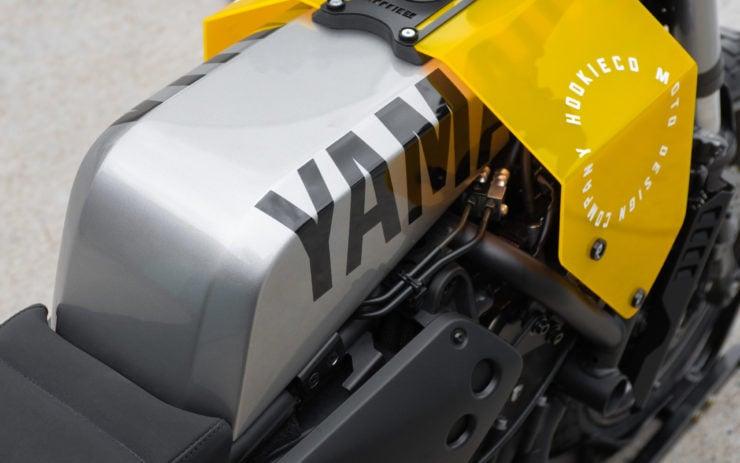 Custom Yamaha XSR700 Fuel Tank 3