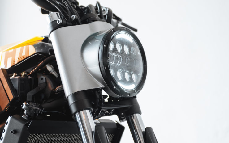 Custom Yamaha XSR700 Headlight