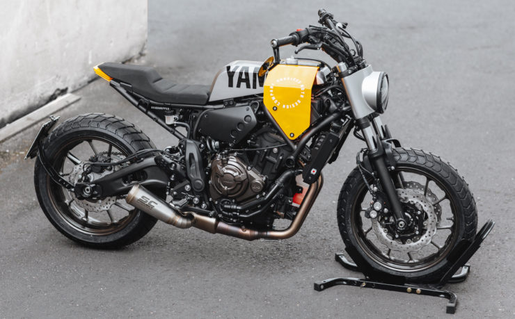 Custom Yamaha XSR700 Side 2