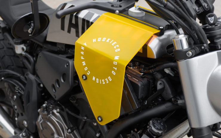 Custom Yamaha XSR700 Side Cover