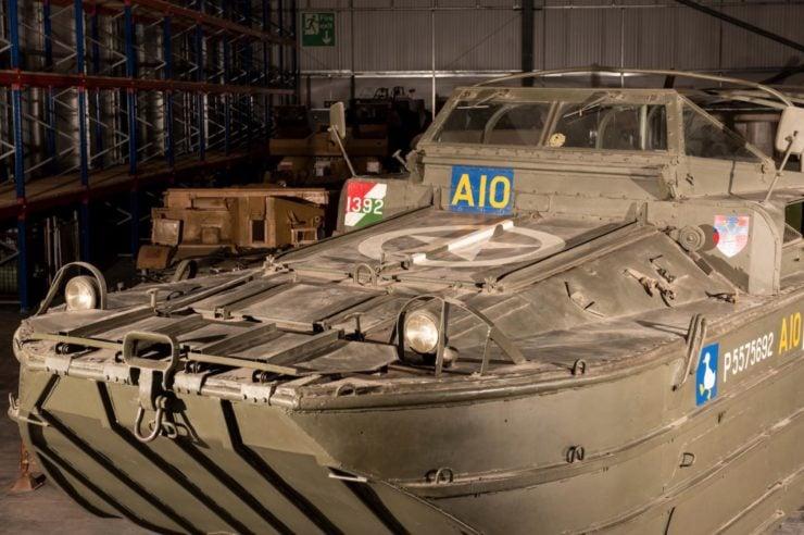 DUKW 6x6 Amphibious Utility Vehicle Bow