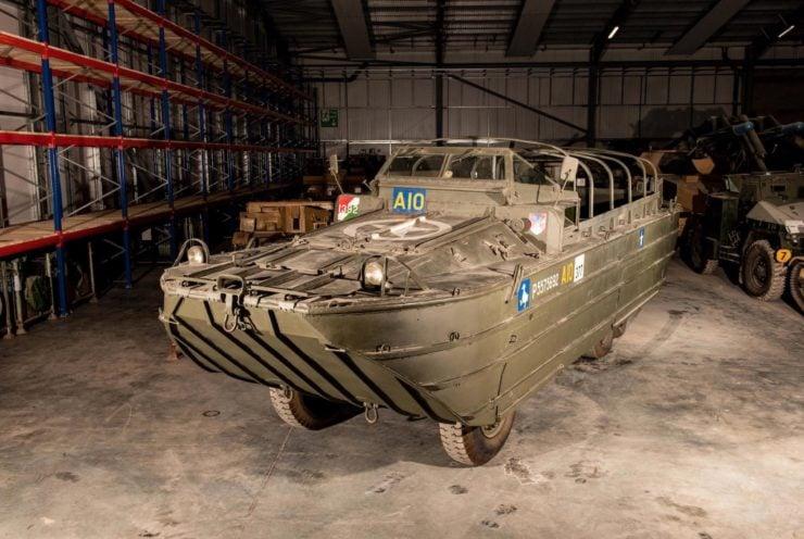 DUKW 6x6 Amphibious Utility Vehicle Front 2
