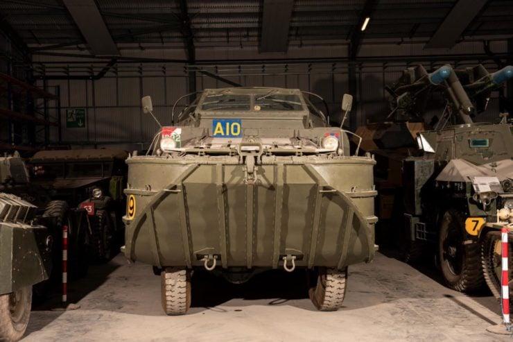 DUKW 6x6 Amphibious Utility Vehicle Front 3