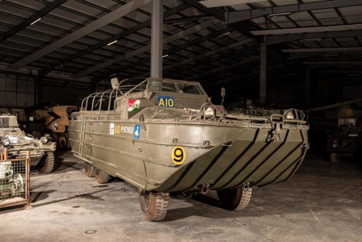 DUKW 6x6 Amphibious Utility Vehicle Front