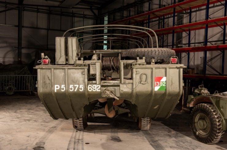 DUKW 6x6 Amphibious Utility Vehicle Rear