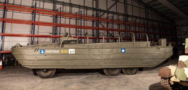 DUKW 6x6 Amphibious Utility Vehicle Side