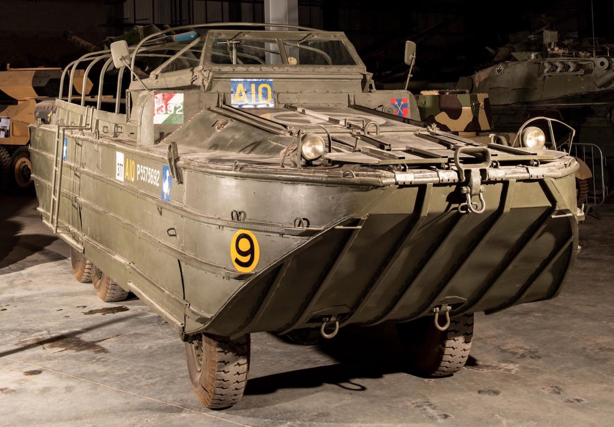 DUKW 6x6 Amphibious Utility Vehicle