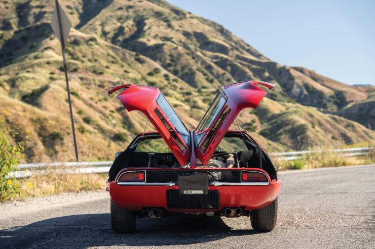 De Tomaso Mangusta Engine Lid