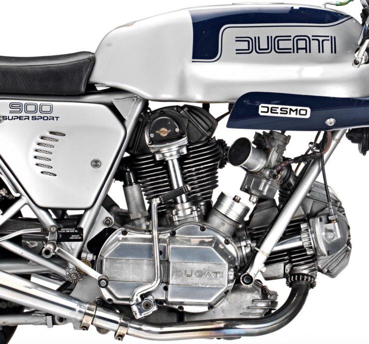 Ducati 900SS Engine