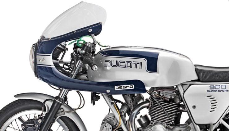 Ducati 900SS Fuel Tank
