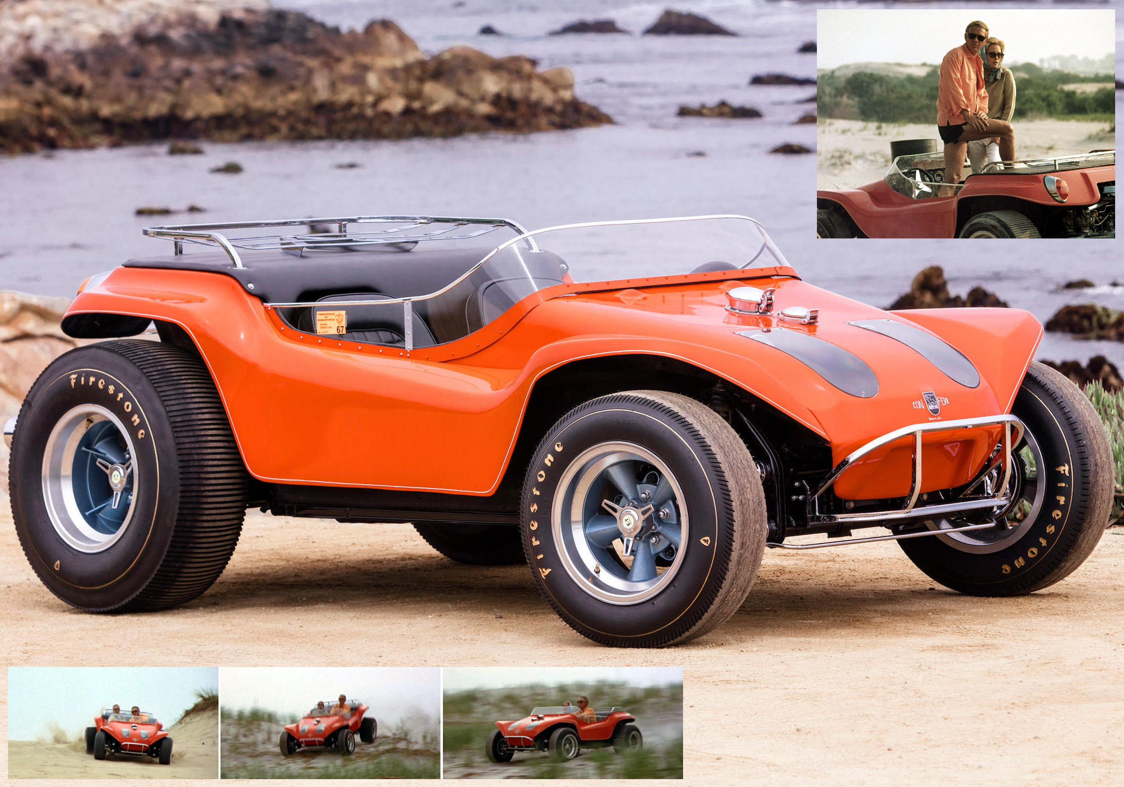 Dune Buggy Driven By Steve McQueen In The Thomas Crown Affair Meyers Manx