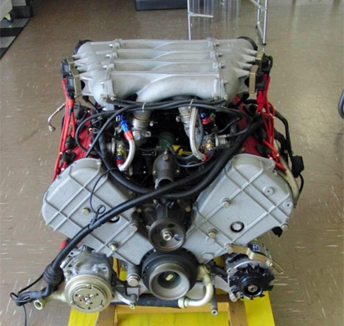 For Sale A Ferrari F40 Engine