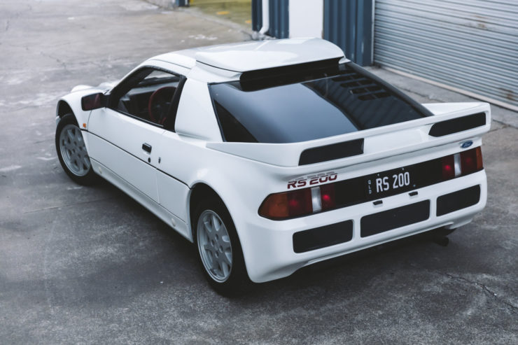 Ford RS200 Back 3