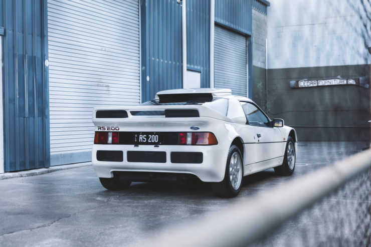 Ford RS200 Rear