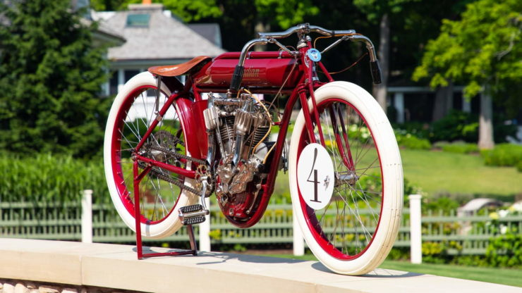 Indian Twin Board Track Racer Front 2