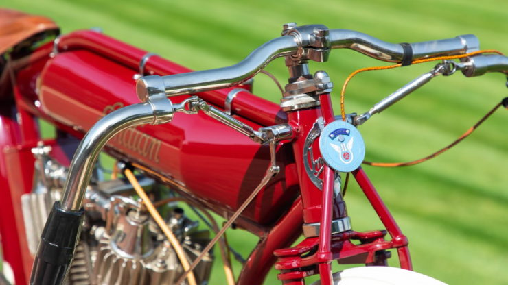 Indian Twin Board Track Racer Handlebars