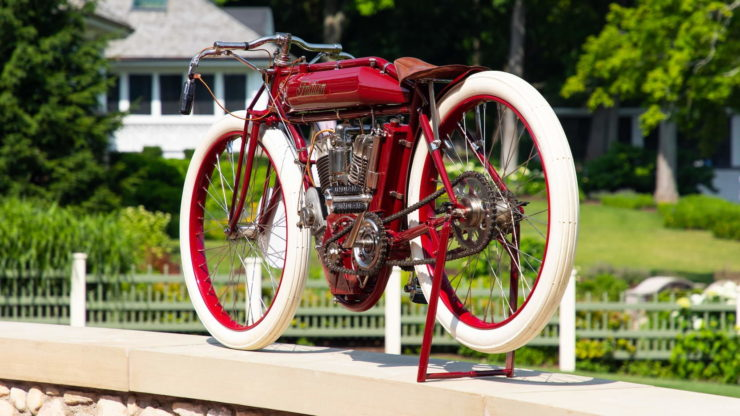 Indian Twin Board Track Racer Rear 3