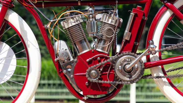 Indian Twin Board Track Racer V-twin 2