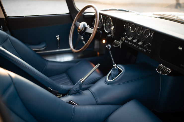 Low Drag Jaguar E-Type Interior