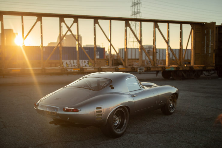 Low Drag Jaguar E-Type Rear 3