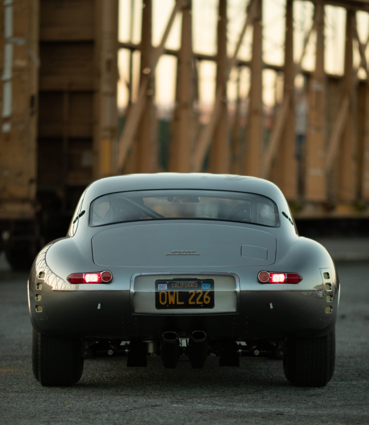 Low Drag Jaguar E-Type Rear