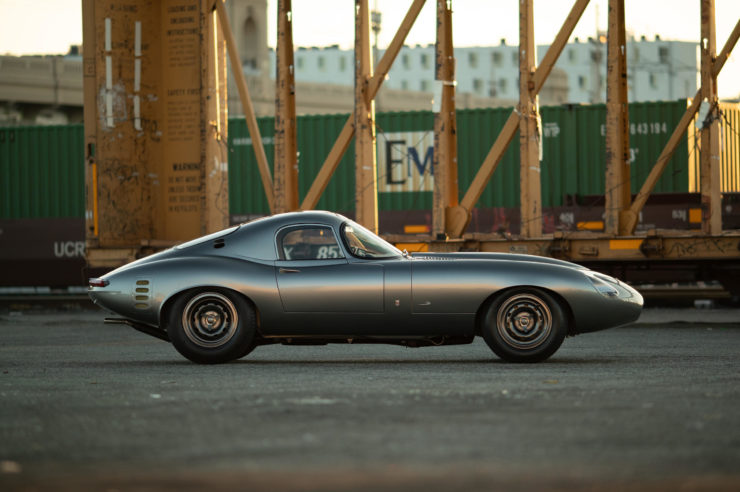 Low Drag Jaguar E-Type Side