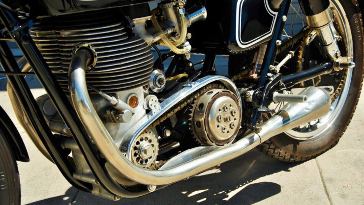 Matchless G45 Exhaust