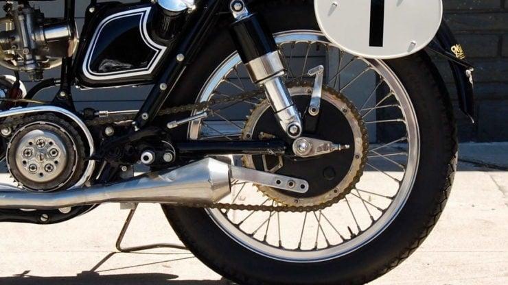 Matchless G45 Rear Drum Brake