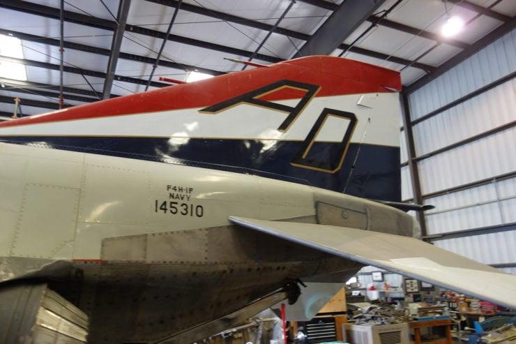 McDonnell F-4 Phantom II Rudder