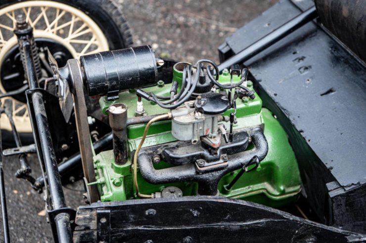 Morgan 3 Wheeler Engine 2