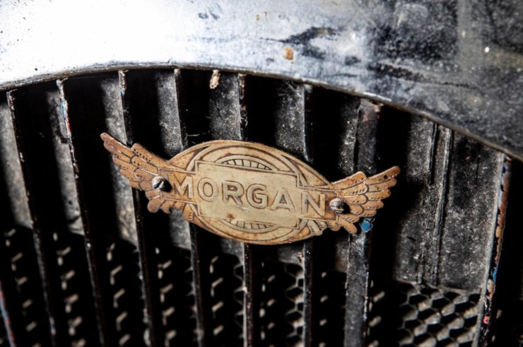 Morgan 3 Wheeler Grille